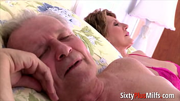 Big-ass granny gets fucked in doggy thumbnail