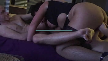 Horny wife wants gangbang - Two young guys are fucking my wife