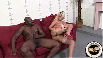 11 inch black monster cock ruins hot blonde