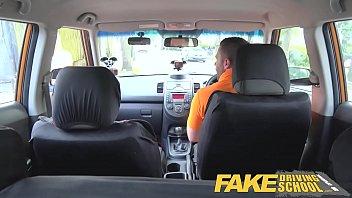 Fake Driving School Busty blonde learner fucks fake driving instructor Vorschaubild