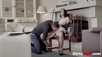MILF Maid Force Fucked By Intruded- Valentina Bianco