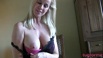Encouraging you to jerk off Milf jerk off instruction tabitha