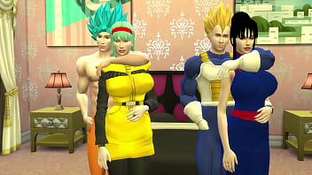 Dragon Ball Porn Hentai Wife Swapping Goku and Vegeta Unfaithful and Hot Wives Want to be Fucked by their Husband's Friend NTR