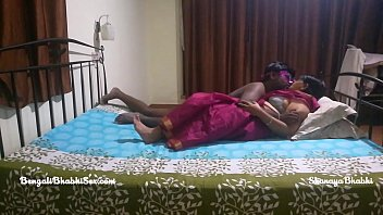 big ass mature indian bengali bhabhi with her tamil husband having rough bedroom sex