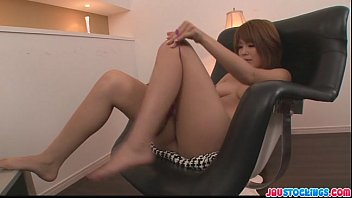 In leg pretty sexy stocking - Pretty and eager asian babe finger fucking