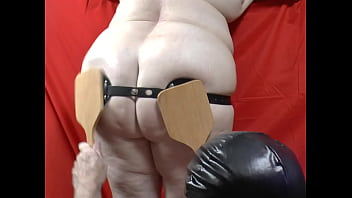 29-Sep-2018 Ass Spanking with Spikes (Sklavin, Slave, Esclave)