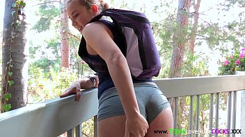 Booty teen facialized by bigcock 8 min
