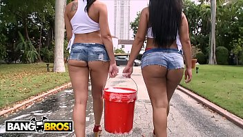Adult internet movie watch Bangbros - curvy latin babes rachel starr rose monroe getting wet