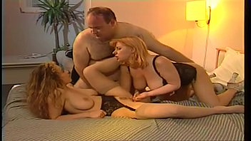 Old man sex parties - Teen and milf threesome old man