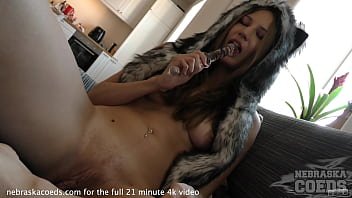 super pretty tall model type fingering her ass and rfo