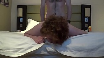 Redhead Fucked From Behind in Motel