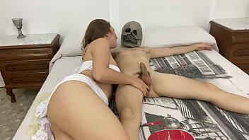 Resurrection to a corpse that is lying on the bed we end up fucking like crazy comes back to life with joy and a happy ending (pamelayjesus) the amateur porn couple