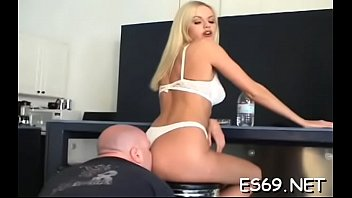 Jim fetish - Slim jim sucking action by enchanting bombshell
