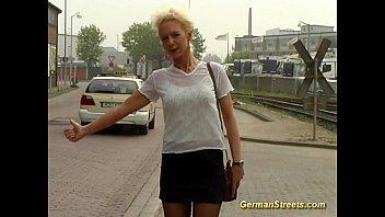 Porn german street german