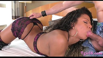 """Sultry latin shemale ass fucked bareback in many poses <span class=""""duration"""">6 min</span>"""