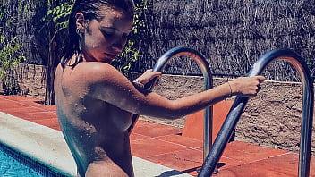 Bikini en foto - Berta galo casi desnuda en su instagram