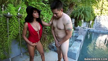 Boy slut - Upscale black slut fucks with pool boy