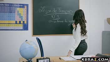 French teacher Anissa Kate anal sex with her pervert student