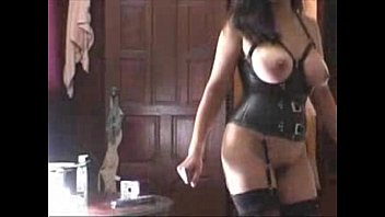Hot wife in lingerie movies - Big tits asian wife oiled up and fucked