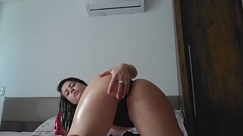 Sensual play with panther passion oil displays her fleshy and fragrant GG pussy... TASTY and juicy .... crazy wanting to give you and feel your hot cum flow inside her and ass...