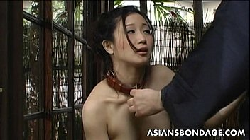 Girl has sex with a dog - Asian slut loves to be treated like a bitch