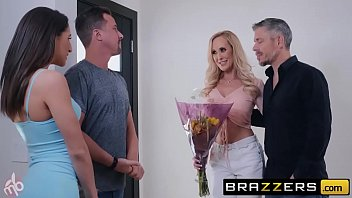 (Abella Danger, Brandi Love) have fun on a MOTORBUNNY - BRAZZERS