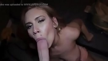 Chloe Lamb sucking a candy
