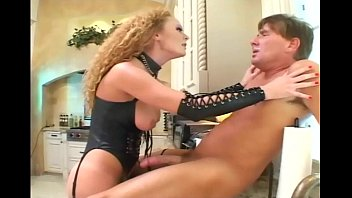 Corsets naked women Roleplay sex in leather and fishnet stockings