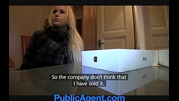PublicAgent Blonde with Huge Boobs win iPad preview image