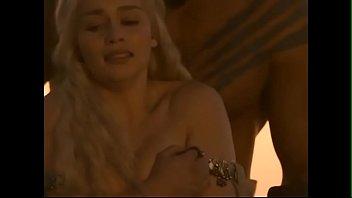 CelebrityING.com - Emilia Clarke Sex Scenes In Game Of Thrones