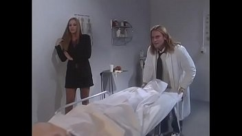 Kindhearted blonde Lauren Phoenix helps handsome doctor who  was painfully shy with females and that's why he talked mostly with dead girls