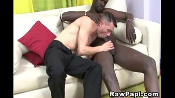 Watch gay black men Latino stud gets his cock fucked