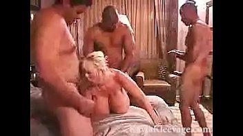 Kayla Kleevage Black Gangbang