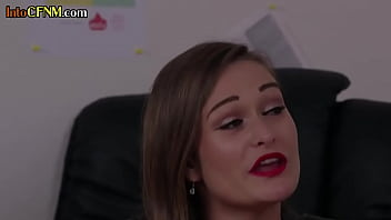 CFNM Eurobabe Sucking Off Sub In Office While Instructed