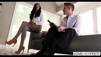 LoveHerFeet - Divorce Lawyer Toe Sucks His Clients Pretty Petite Feet