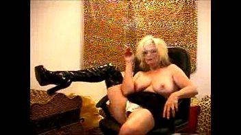 Big boobs smoker - Teasing boss granny porn star busty boob smoker