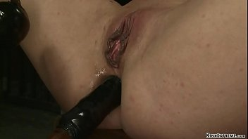 Bound in steel device anal fucked