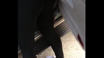 Wife leggings thong slip