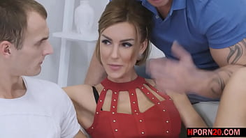 Busty Wife Enjoys A Full Cuckold Experience