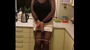 Bondage transexuals - Sissy maid punished