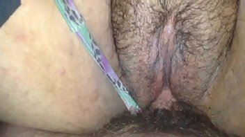 Hairy pussy My wife cant believe shes getting creampie from stranger