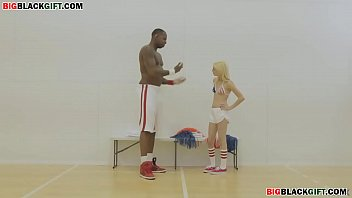 big black cock destroys the tight pussy of a white college girl