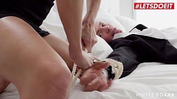 WHITE BOXXX - Jenny Doll & Ricky Rascal - TIED UP AND TEASED BY NAUGHTY BABE
