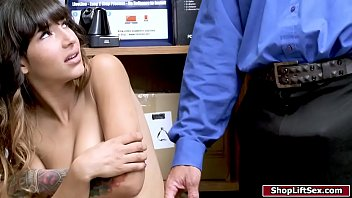 Latin naked lady Shoplifter freed after fucking officer