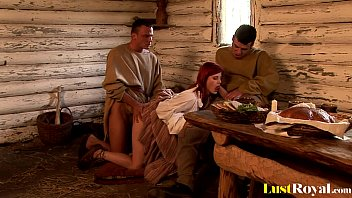 Redhead with na tural tits Rosses Silver loves es Silver loves threesomes