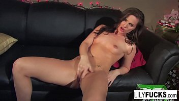 Carter jenkins nude Lily tells us her horny christmas wishes before satisfying herself in both holes