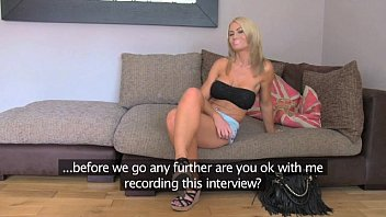 FakeAgentUK Busty MILF and her magic pussy causes premature problems
