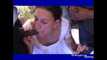 My Wifes DFWKnight Wedding Gangbang breeding porno izle