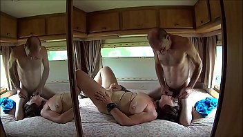 thebosslady305 & Suzisoumise chained camper whore thumbnail