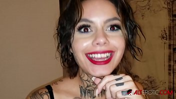 Genevieve Sinn fucked after getting a face tattoo